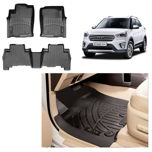 Custom Fit All Weather Tech Car Floor Liner Mats For Hyundai Creta