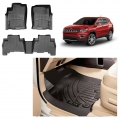 Custom Fit All Weather Tech Car Floor Liner Mats For Jeep Compass