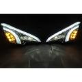 Ford Ecosport New LED DRL Daytime Running Lights  With Matrix Turn Signal & LED Fog Lamp - Volmax (Set of 2Pcs.)