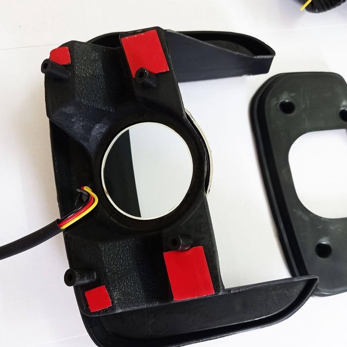 Kia Seltos LED DRL Light with Moving Matrix Turn Signal Indicator - By Volmax (Set of 2Pcs.)