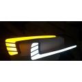 Maruti Suzuki Swift Dzire LED Front DRL Day Time Running Lights With Turn Indicator (Set of 2Pcs.)
