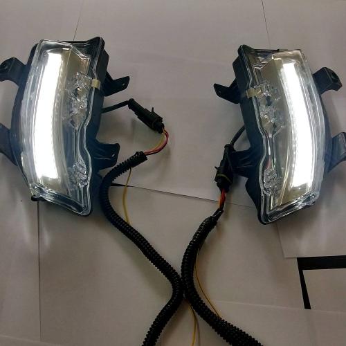 Mahindra Xuv 300 LED DRL Light  Moving Matrix Turn Signal - Volmax (Set of 2Pcs.)