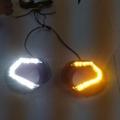 Honda WRV Front LED DRL Day Time Running Lights (Set of 2Pcs.)