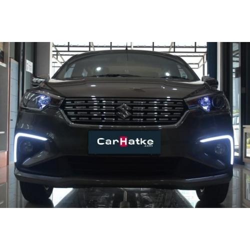 Maruti New Ertiga 2018 Front LED DRL Day Time Running Lights (Set of 2Pcs.)