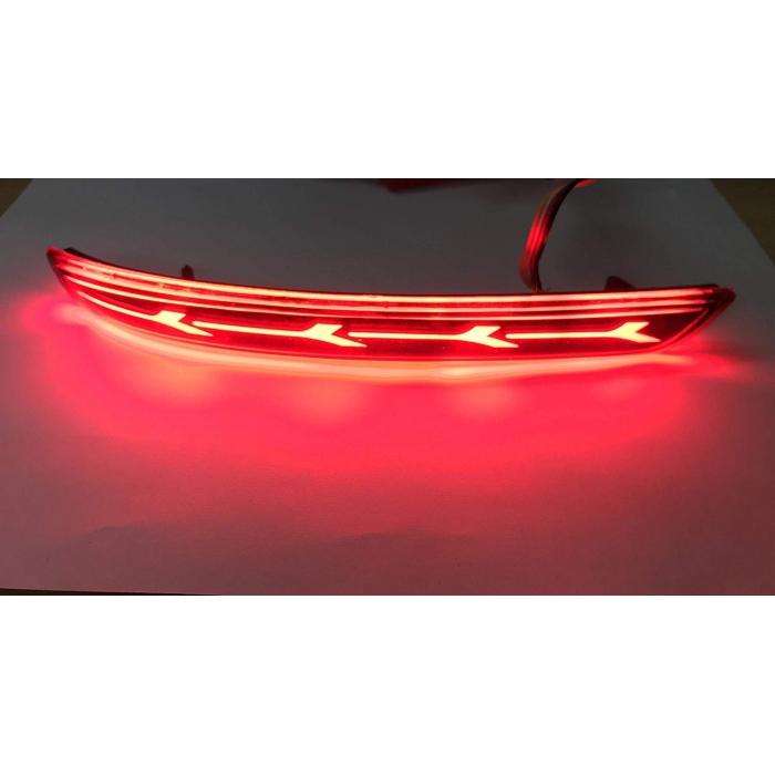Toyota Innova Crysta Bumper LED Reflector Lights in Arrow Style (Set of 2Pcs.)