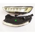 Hyundai Venue Headlight LED DRL Daytime Running Light with Moving Matrix Turn Signal (Set of 2Pcs.)