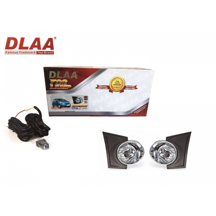 Fog Light With Wiring & Bulb For Chevorlet Beat Set Of 2 By DLAA