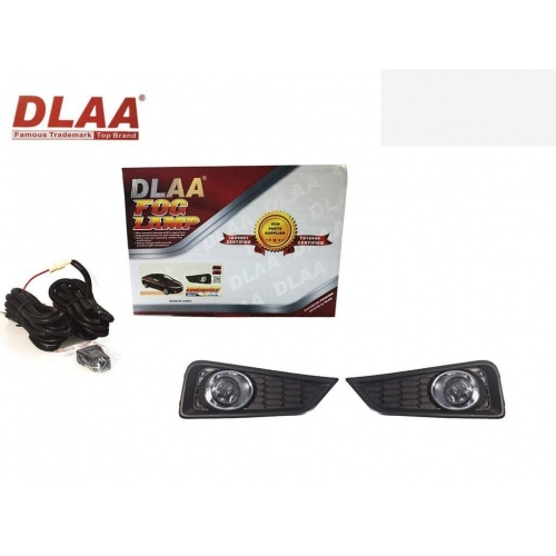 Fog Light With Wiring & Bulb For Honda City Idtech 2014 Type 2 Set Of 2 By DLAA