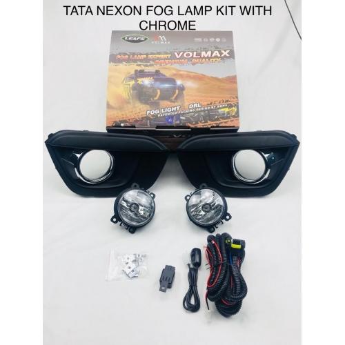 Tata Nexon Fog Light Complete Assembly (Set of 2Pcs.)