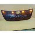 High Quality Custom Fitted Front Grill with LED For Mahindra New Xuv 500 2018