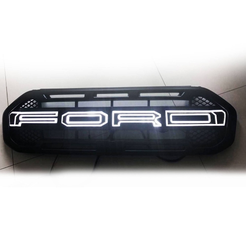 Ford Logo Style Front Grill With LED Lights For New Endeavour 2019 in High Quality ABS Plastic