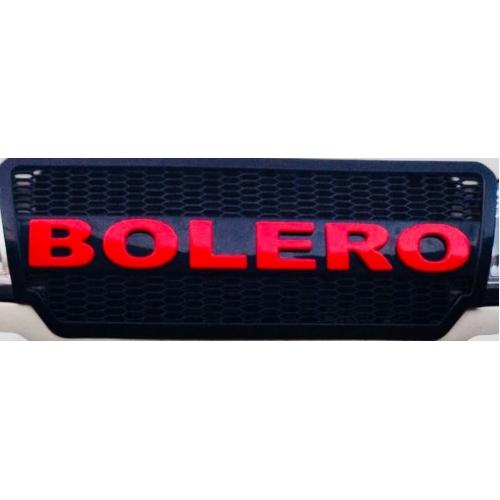 Mahindra Bolero Logo Custom Style Front Grill