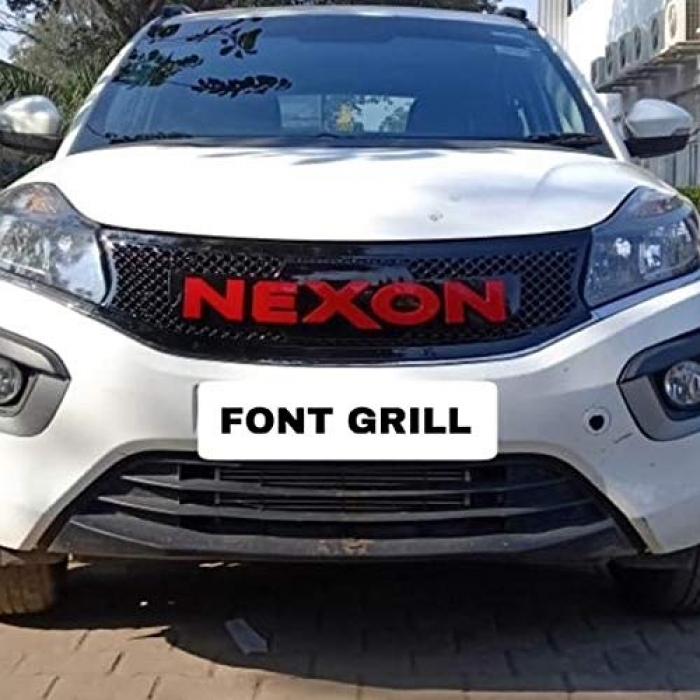 High Quality Custom Fitted Front Grill Nexon Logo For Tata Nexon