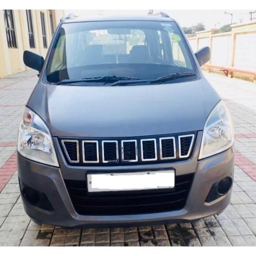 Maruti Suzuki New Wagon R Jeep Compass Style Front Grill 2014 2018 Black Glossy