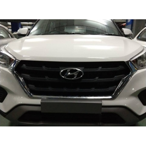 New Hyundai Creta 2018 Chrome Outer For Front Grill