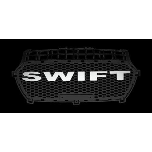 Maruti Suzuki New Swift 2018 Logo Alpha Front Grill