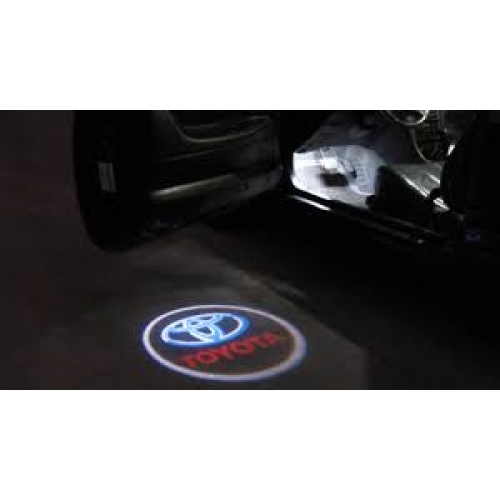 Toyota New Fortuner Welcome Shadow Ghost Light (Toyota Logo)
