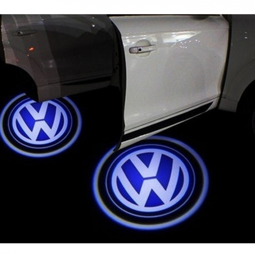 Wireless Car Welcome Logo Shadow Projector Ghost Lights Kit for All Cars
