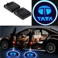 Wireless Car Welcome Logo Shadow Projector Ghost Lights Kit For Tata Bolt Set Of 2