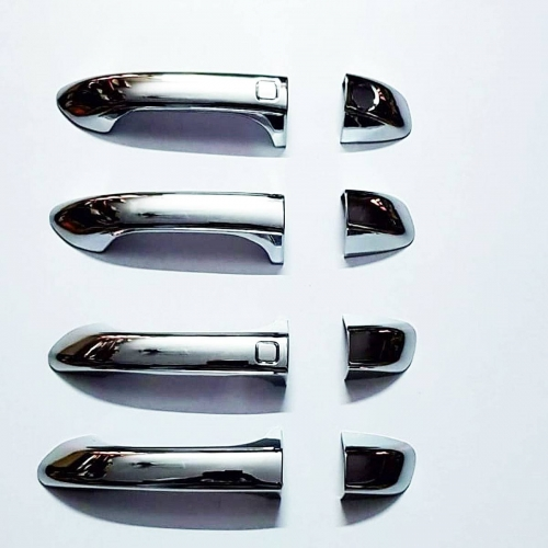 Mahindra XUV 300 Chrome Handle Covers All Models - Set of 4