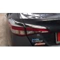 Toyota Yaris Tail Light Chrome Trim Garnish Set Of 4