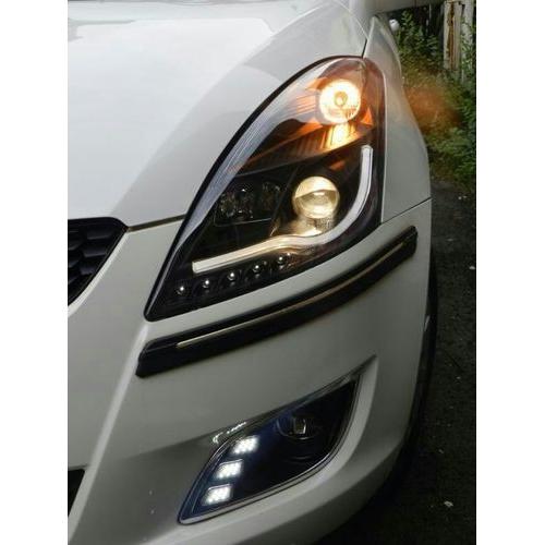 Maruti Suzuki Swift Type 2 Modified Headlight with Drl and Projector Lamp Set of 2Pcs. (Set of 2Pcs.)