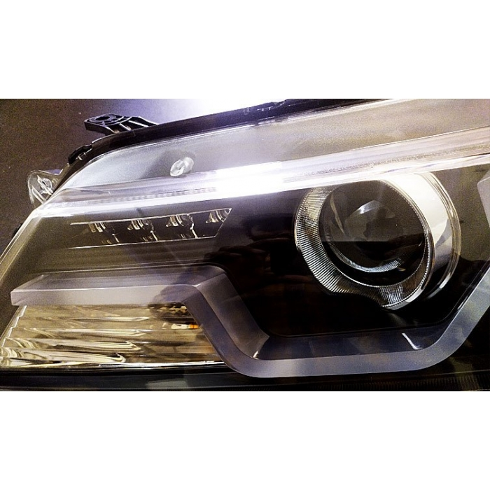 Honda City 2014-2016 BMW Style Modified Headlight with Drl and Projector Lamp (Set of 2Pcs.)
