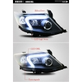 Toyota Fortuner Type 2 Modified Headlight with Drl and HID Projector Lamp (Set of 2Pcs.)
