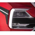 MG Hector Headlight Chrome Garnish Cover (Set of 4Pcs.)