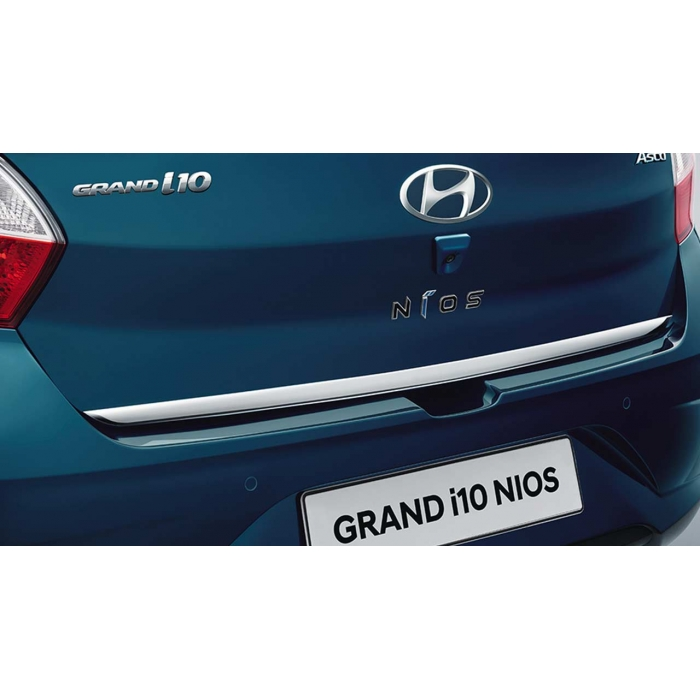 Hyundai Grand i10 Nios Diggy Patti Trunk Chrome Garnish Trims