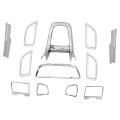 Maruti Swift Deshboard Interior Chrome Trim Kit (12 Pcs)