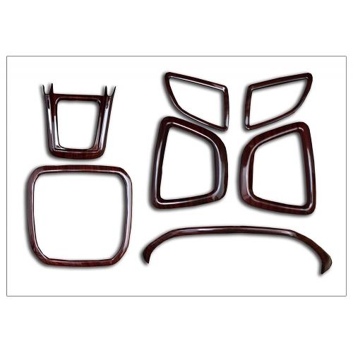 Imported Premium Quality Interior Wooden Kit Trims 7 Pieces For Maruti Vitara Brezza