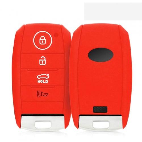 Kia Seltos Silicone Remote Key Cover - Push Button Start Model