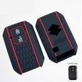 Maruti XL6 Silicone Car Remote Key Cover - 2 Button Smart Key