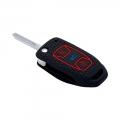 Silicone Key Remote Cover for Tata Zest, Bolt, Tiago, Tigor and Nexon - (Flip Key Model)