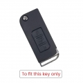 Silicone Key Remote Cover for Mahindra Xuv 500 - (Flip Key Model)