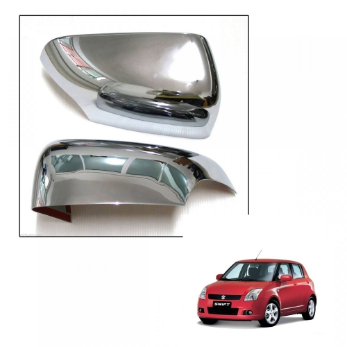 Maruti Suzuki Old Swift High Quality Imported Car Side Mirror Chrome Cover Set of 2