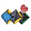 Microfiber Cloth for Car Cleaning and Detailing Dual Sided, Extra Thick Plush Microfiber Towel Lint (Pack of 3, Heavy Quality)