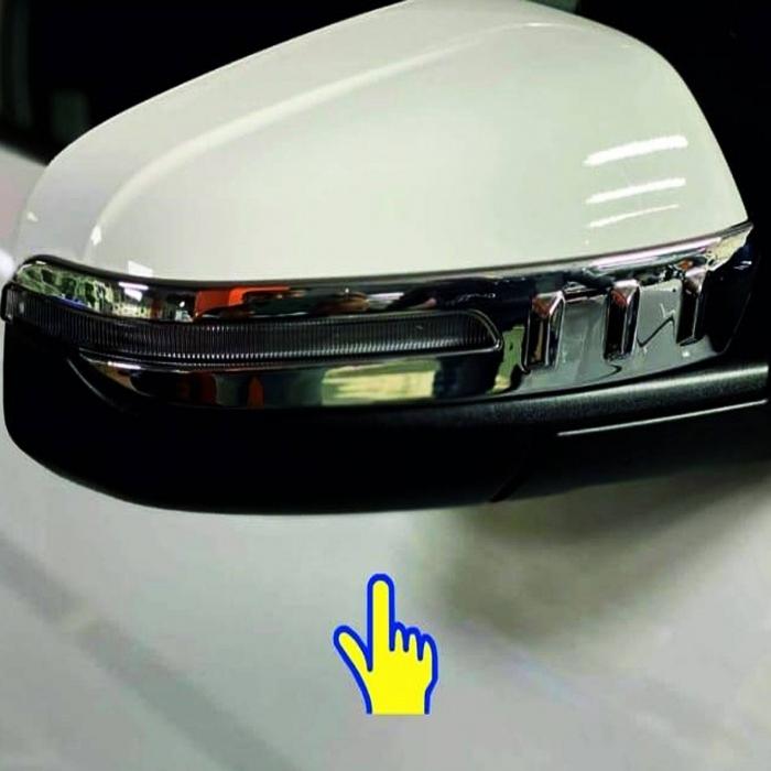 Hyundai New Creta 2020 Mirror Chrome Trims Set Of 2