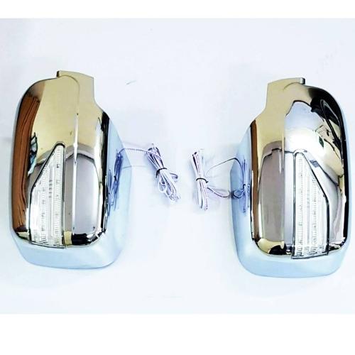 Mahindra New Scorpio Side Mirror Chrome Cover With Turn Signal