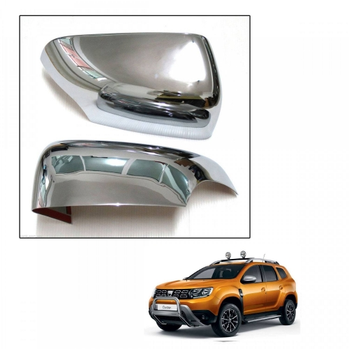 Renault Duster Old High Quality Imported Car Side Mirror Chrome Cover Set of 2
