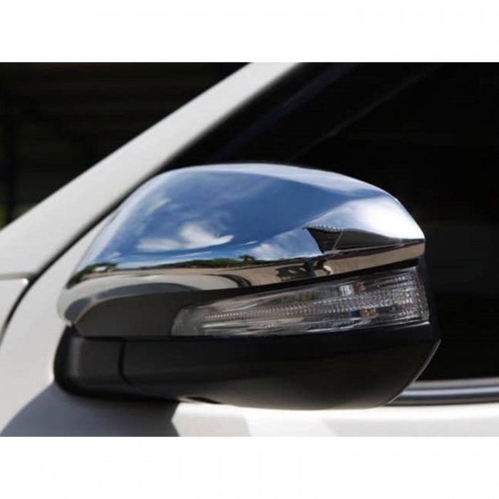 Toyota New Fortuner Facelift 2021 High Quality Imported Car Side Mirror Chrome Cover Set of 2