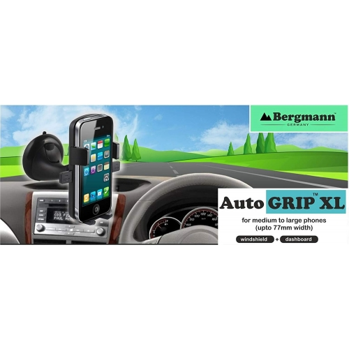 Bergmann Car Mobile Holder Automatic Grip - Black