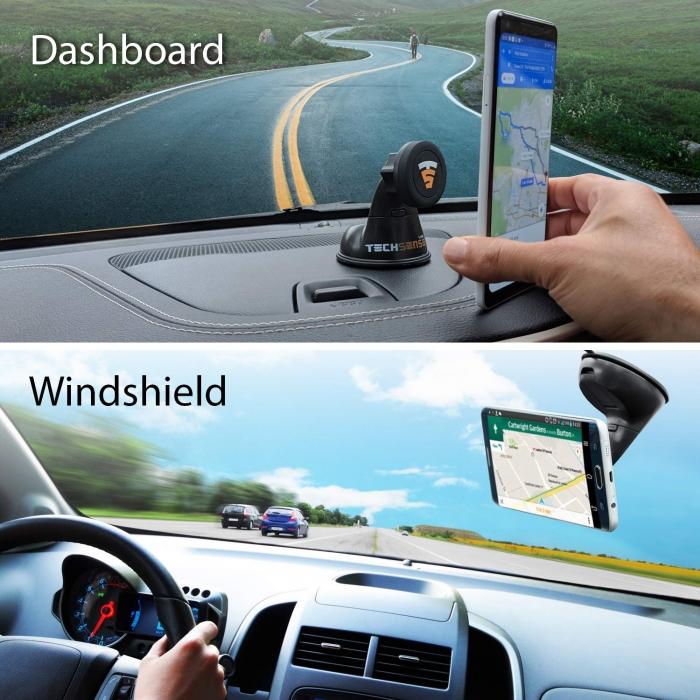 Car Deshboard Universal Magnetic Mobile Holder For All Car - Tech Sense
