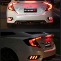 Honda New Civic 2019  Bumper LED Reflector Lights in Mustang (Set of 2Pcs.)