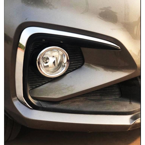 Maruti New Ertiga 2018 Fog Light Lights Chrome Trims Set Of 2