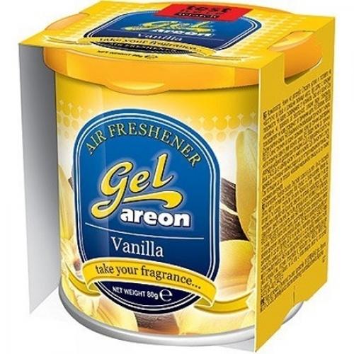 Areon Car Gel Perfume Air Freshner Vanilla 80 Grams