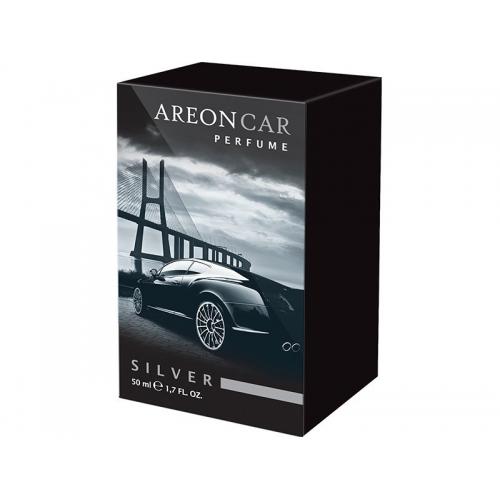 Areon Car Perfume Air Freshener Silver Spray Type 50ML