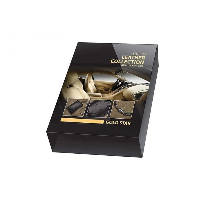 Original Areon Premium Hanging Car Perfume Air Freshener Leather Pouch