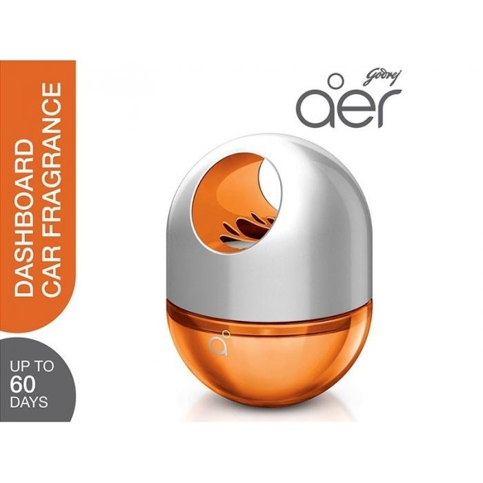 Godrej Aer Twist Car Dashboard Perfume Bright Tangy Delight 45g